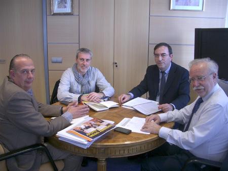 Reunión con el Director de Negocios de SELAE
