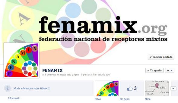 Pagina de FENAMIX en FACEBOOK