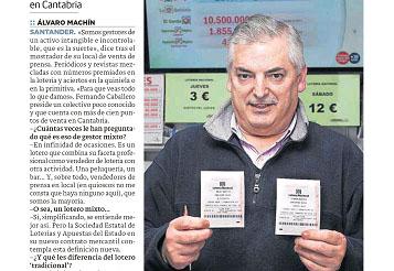EL COMPROMISO DE NUESTROS PRESIDENTES FERNANDO CABALLERO CASADO PRESIDENTE DE LA ASOCIACIÓN DE CANTABRIA
