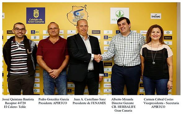 FENAMIX FIRMA UN CONVENIO CON EL CLUB DE BALONCESTO GRAN CANARIA