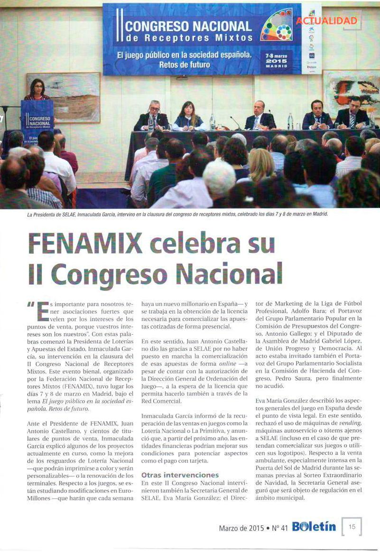 Boletín LAE Congreso