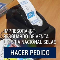 Impresora IGT