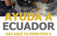 RECAUDACIÓN DE DONATIVOS EN NUESTRA CAMPAÑA DE SOLIDARIDAD CON ECUADOR