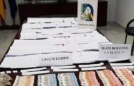 La Policía interviene más de 30.000 boletos de lotería ilegal en Cádiz