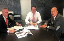 Reunión con D.Teodoro García Egea,Secretario General del Partido Popular.