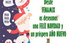 Fenamix desea Feliz Navidad y Próspero Año Nuevo