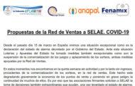 Propuestas de la Red de Ventas a SELAE. COVID-19