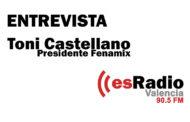 Entrevista a Toni Castellano en EsRadio