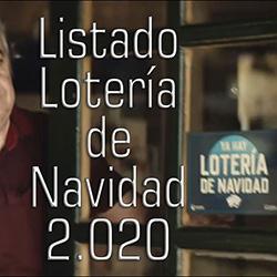 Descarga Listado Lotería 2020