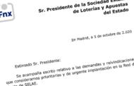 Escrito de demandas y reivindicaciones presentado a S.E.L.A.E.