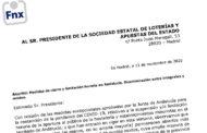 Escrito de queja ante las medidas tomadas en Andalucía