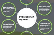 Nuevo organigrama de la Junta directiva