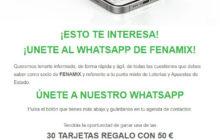 Nueva Plataforma Whatsapp FENAMIX